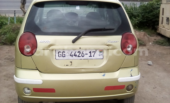 Buy Used Daewoo Matiz Green Car in Accra in Greater Accra