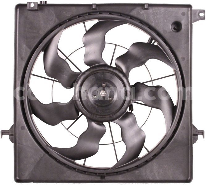 Big with watermark engine cooling fan assembly hyundai santa fe