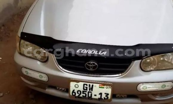 Buy Used Toyota Corolla Silver Car in Bole in Northern