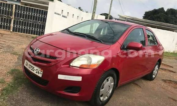 Buy Used Toyota Yaris Red Car in Kadjebi in Volta