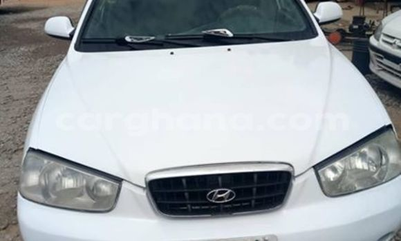 Buy Used Hyundai Elantra White Car in Accra in Greater Accra