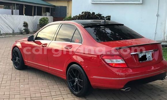 Buy Used Mercedes Benz C–Class Red Car in Accra in Greater Accra