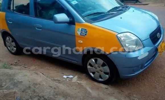 Buy Used Kia Picanto Blue Car in Accra in Greater Accra