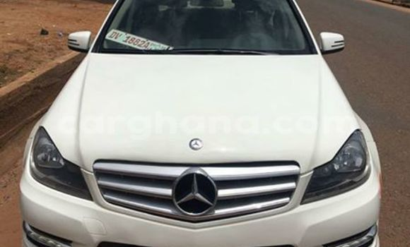 Buy Used Mercedes Benz C–Class White Car in Accra in Greater Accra
