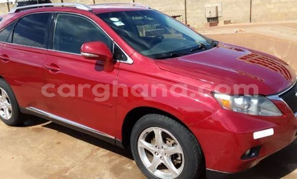 Buy Imported Lexus RX 350 Red Car in Accra in Greater Accra
