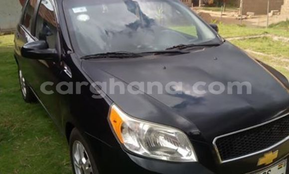 Buy Imported Chevrolet Aveo Black Car in Accra in Greater Accra