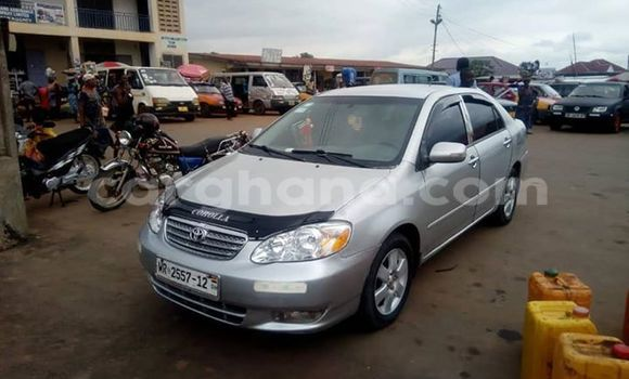 Buy Imported Toyota Corolla Silver Car in Kumasi in Ashanti