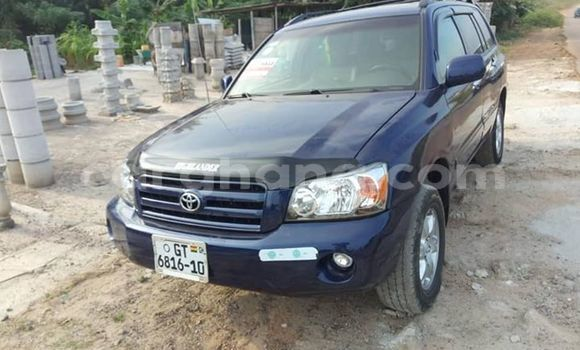 Buy Imported Toyota Highlander Blue Car in Kumasi in Ashanti