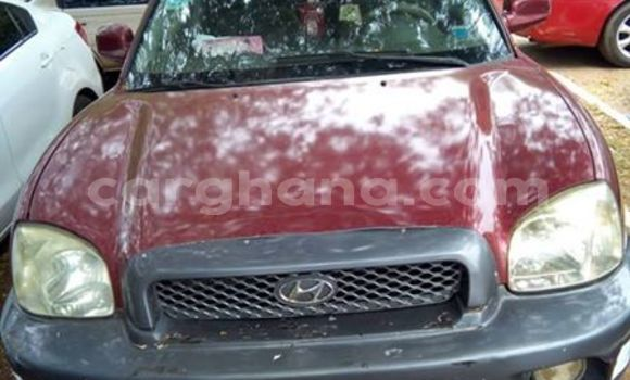 Buy Used Hyundai Santa Fe Red Car in Madina in Greater Accra