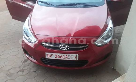 Buy Used Hyundai Accent Red Car in Accra in Greater Accra