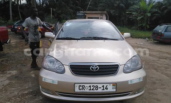 Buy Used Toyota Corolla Beige Car in Koforidua in Eastern