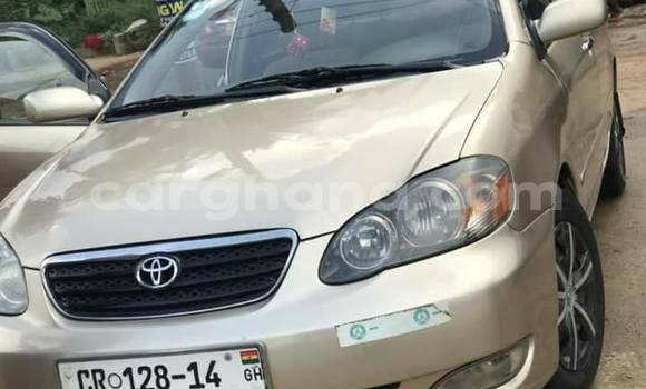 Buy Used Toyota Corolla Beige Car in Kpandae in Northern