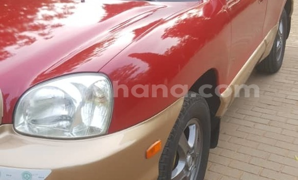 Buy Used Hyundai Santa Fe Red Car in Accra in Greater Accra