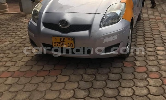 Buy Used Toyota Vitz Silver Car in Accra in Greater Accra