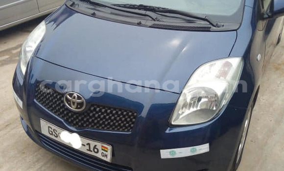 Buy Used Toyota Vitz Blue Car in Accra in Greater Accra