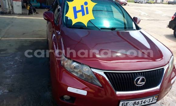 Buy Used Lexus RX 350 Red Car in Accra in Greater Accra