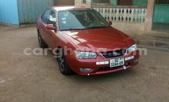 Buy Used Toyota Corolla Red Car in Kintampo North Municipal in Brong-Ahafo