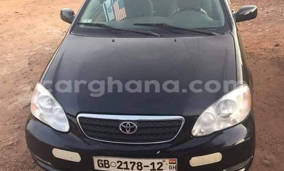 Buy Used Toyota Corolla Black Car in Kete–Krachi in Volta