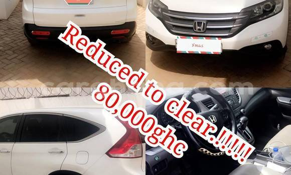 Buy Used Honda CR-V White Car in Accra in Greater Accra