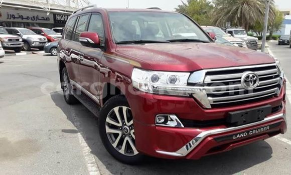 Buy Used Toyota Land Cruiser Prado Red Car in Accra in Greater Accra