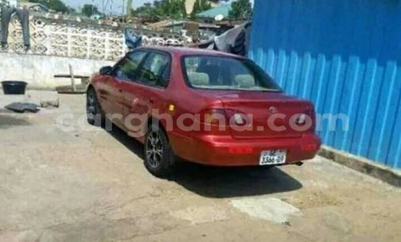 Buy Used Toyota Corolla Red Car in Kintampo in Brong-Ahafo