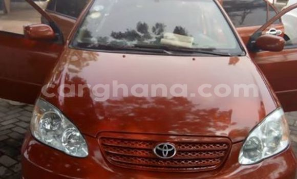 Buy Used Toyota Corolla Red Car in Accra in Greater Accra
