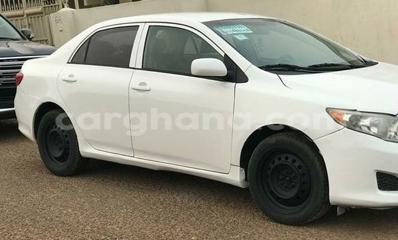 Buy Used Toyota Corolla White Car in Accra in Greater Accra