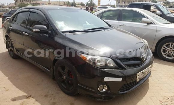 Buy Used Toyota Corolla Black Car in Accra in Greater Accra