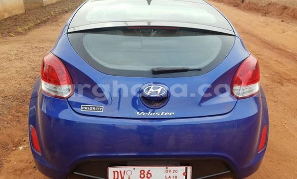 Buy Used Hyundai Veloster Blue Car in Accra in Greater Accra