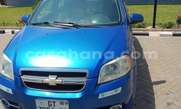 Buy Used Chevrolet Aveo Blue Car in Tema in Greater Accra