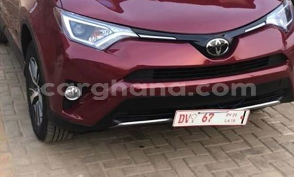Buy Used Toyota RAV4 Red Car in Accra in Greater Accra
