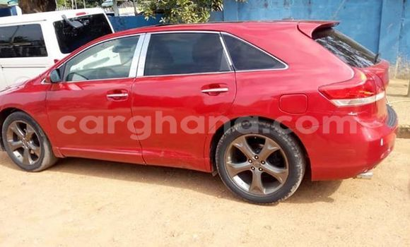 Buy Used Toyota Venza Red Car in Accra in Greater Accra