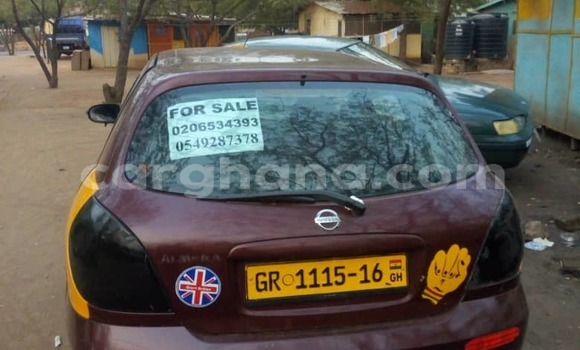 Buy Used Nissan Almera Red Car in Accra in Greater Accra