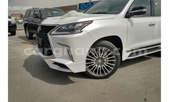Buy Import Lexus LX White Car in Import - Dubai in Ashanti