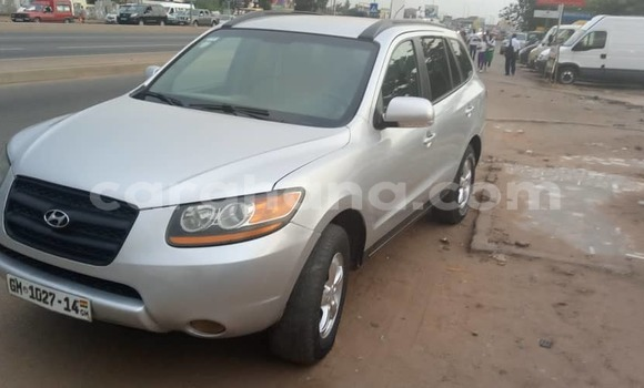 Buy Used Hyundai Santa Fe Silver Car in Accra in Greater Accra
