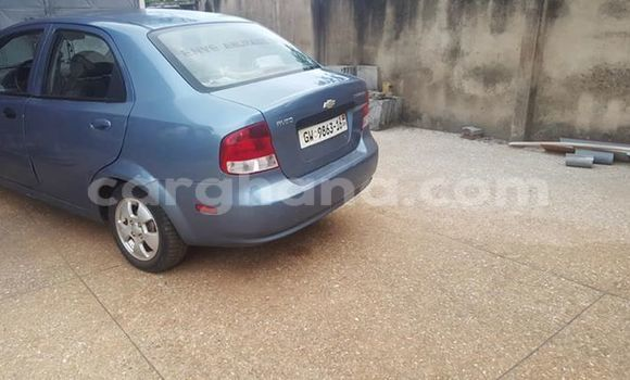 Buy Used Chevrolet Aveo Blue Car in Accra in Greater Accra