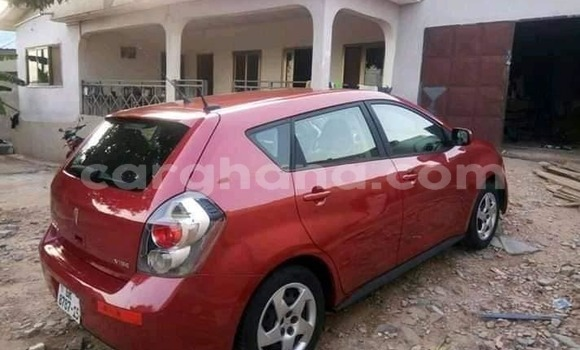 Buy Used Pontiac Vibe Red Car in Accra in Greater Accra