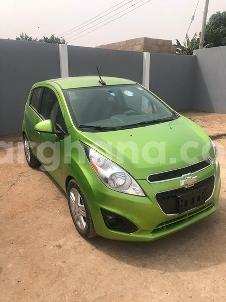 Buy Used Chevrolet Spark Green Car In Accra In Greater Accra