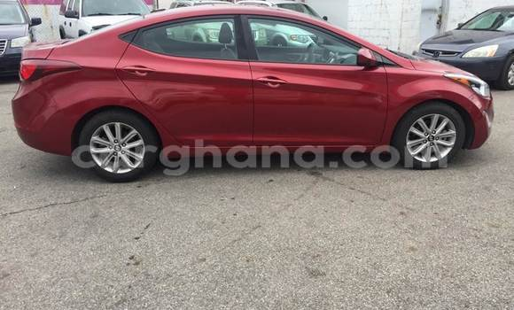Buy Used Hyundai Elantra Red Car in Accra in Greater Accra