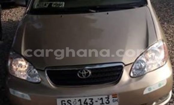 Buy Used Toyota Corolla Beige Car in Accra in Greater Accra