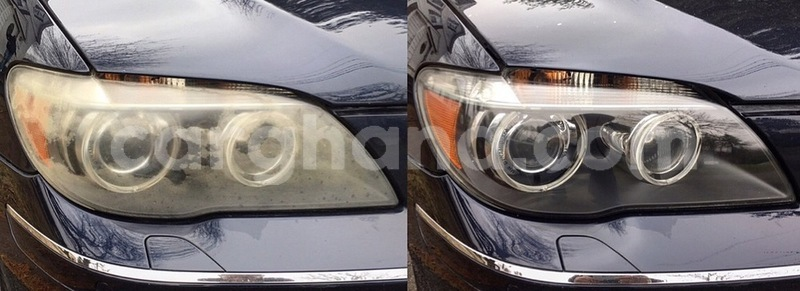 Big with watermark bmw 750i headlight restoration service