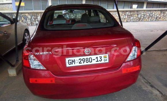 Buy Used Nissan Almera Red Car in Akim Swedru in Eastern