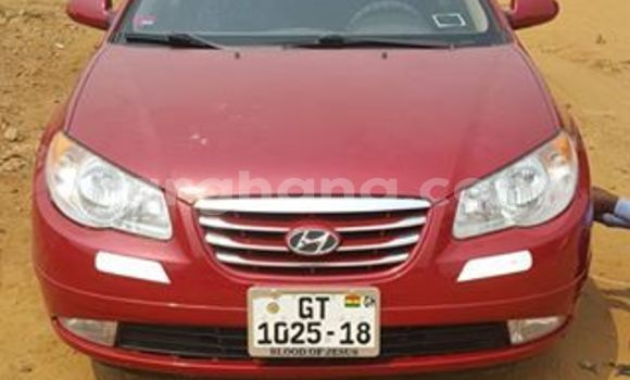 Buy Used Hyundai Elantra Red Car in Akim Swedru in Eastern