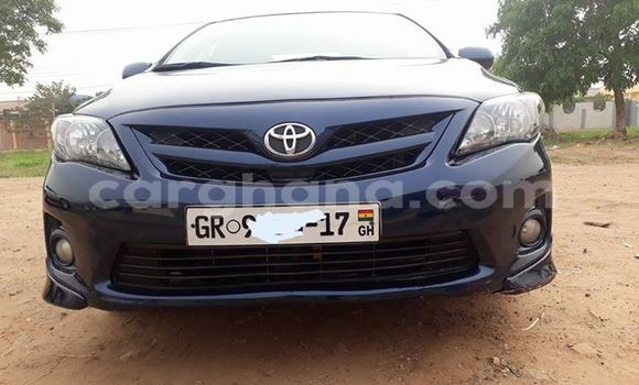 Buy Used Toyota Corolla Blue Car in Akim Swedru in Eastern