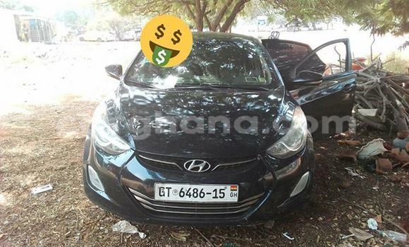 Buy Used Hyundai Elantra Black Car in Akim Swedru in Eastern