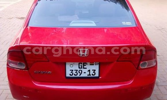 Buy Used Honda Civic Red Car in Akim Swedru in Eastern