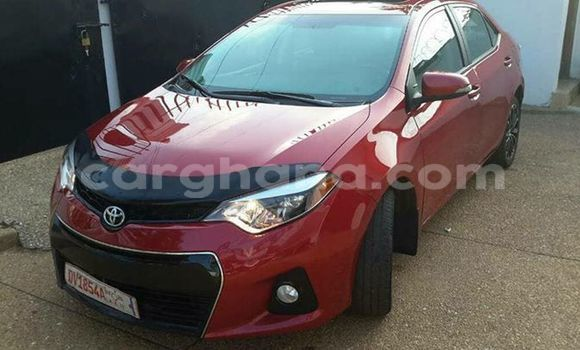 Buy Used Toyota Corolla Red Car in Akim Swedru in Eastern