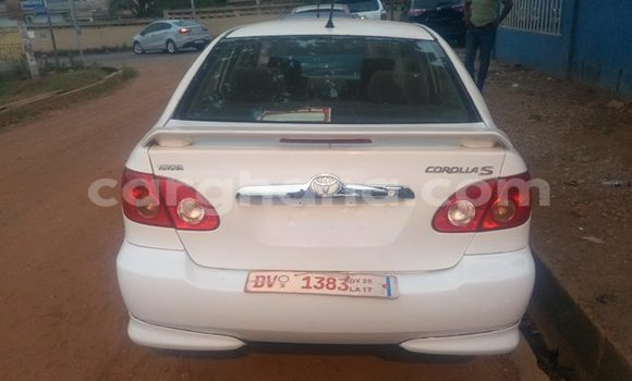 Buy Used Toyota Corolla White Car in Akim Swedru in Eastern