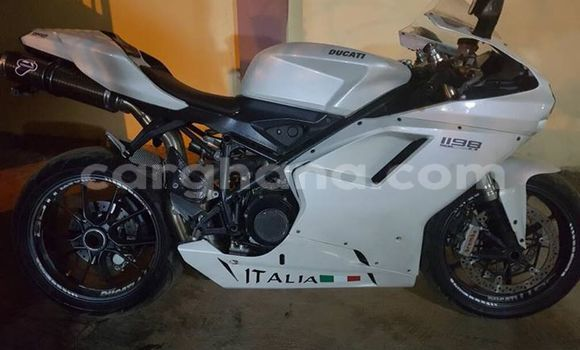 Buy Used Ducati 1198 White Bike in Accra in Greater Accra