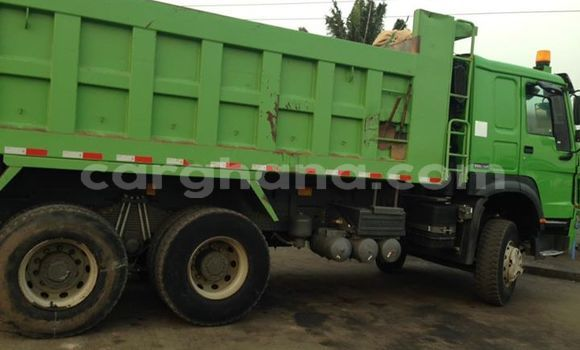 Buy Used Howo Sinotruck Green Truck in Accra in Greater Accra